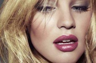 Клубный макияж, макияж для сероглазых шатенок