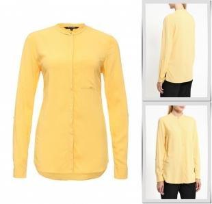 Желтые блузки, блуза top secret, осень-зима 2016/2017