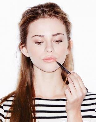 Быстрый макияж на каждый день, весенний макияж для шатенок