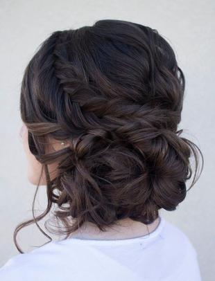 Свадебные прически с косой на длинные волосы, великолепная прическа для подружки невесты
