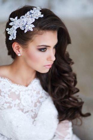 Свадебный макияж для брюнеток с зелеными глазами, свадебный макияж для зеленых глаз в коричнево-розовой гамме