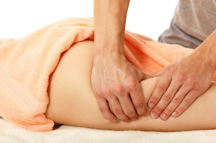Антицеллюлитный массаж с использованием крема