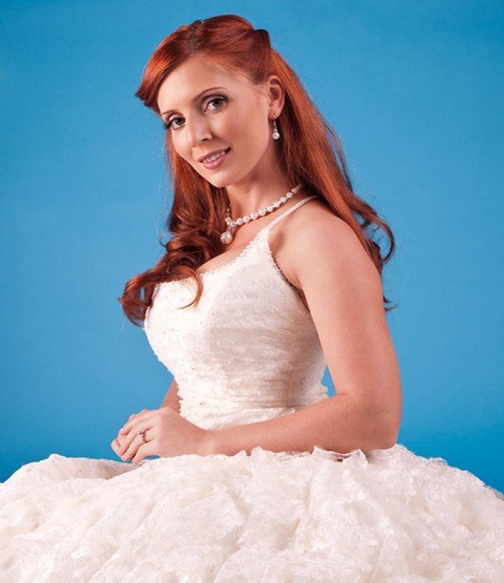 Макияж для девушек с рыжими волосами