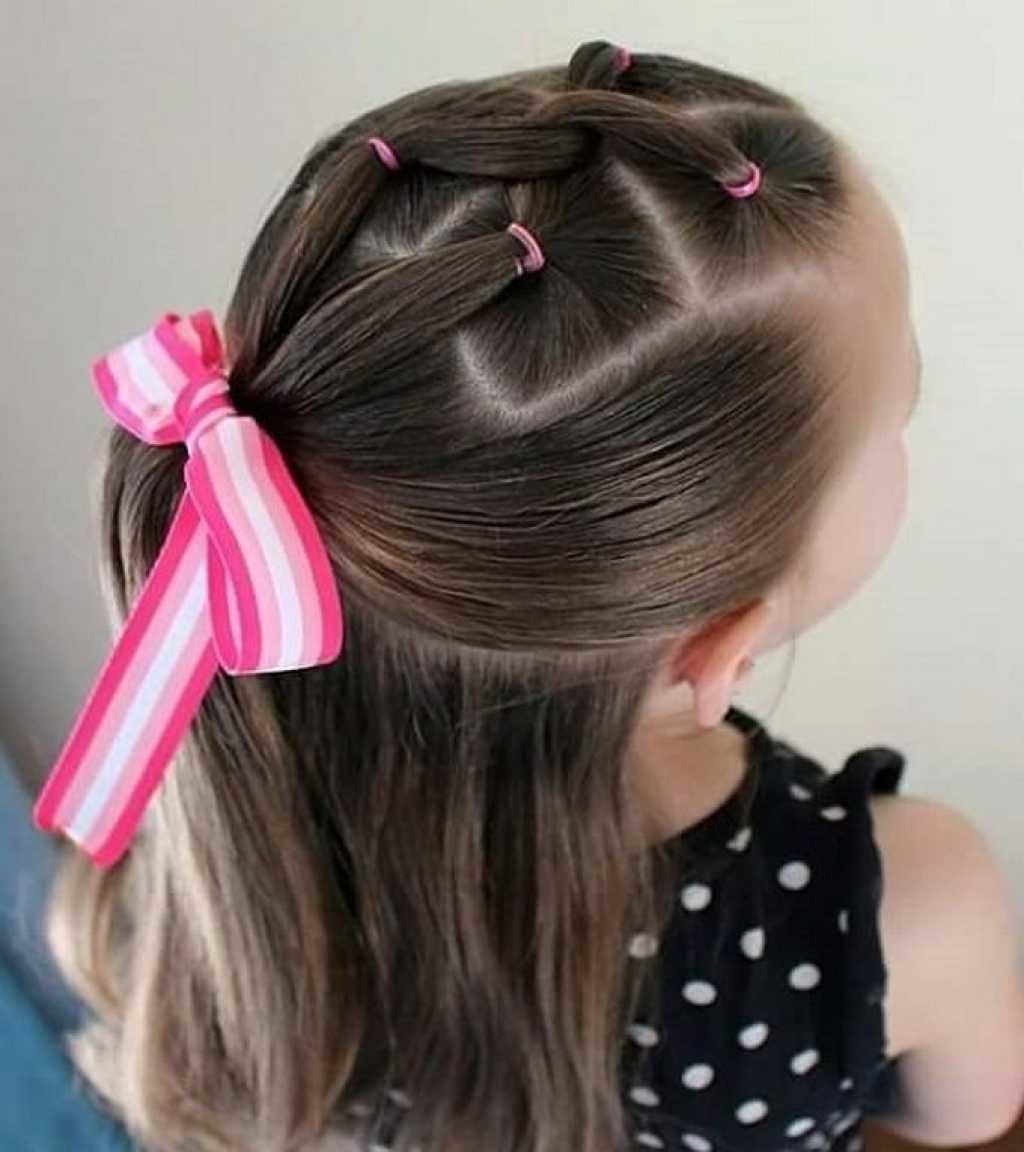 Прически для девочек. Как сделать простую прическу для девочки? 63