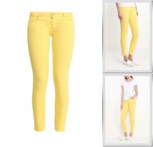 Желтые джинсы, джинсы adl, весна-лето 2016