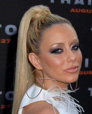 Макияж 90-х годов, вечерний макияж для блондинок