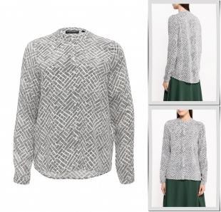 Серые блузки, блуза broadway, осень-зима 2016/2017