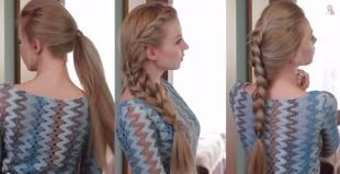 Холодно бежевый цвет волос, красивые повседневные прически на длинные волосы