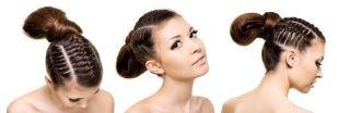 Цвет волос золотистый кофе на длинные волосы, модные косы на 1 сентября