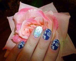 Рисунки на ногтях шеллаком, эффектный маникюр с росписью