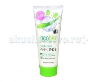 Скраб с оливковым маслом, neobio средство для пилинга fresh skin 100 мл