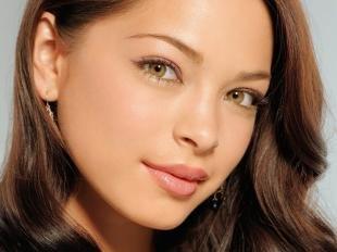 Естественный макияж для карих глаз, макияж для школьницы