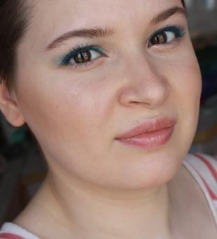 Летний макияж для карих глаз, легкий вечерний макияж для круглого лица