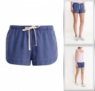 Синие шорты, шорты united colors of benetton, весна-лето 2016