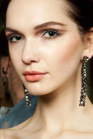Вечерний макияж для серо-зеленых глаз, необычный макияж глаз
