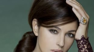 Темно шоколадный цвет волос, прическа для длинных густых волос