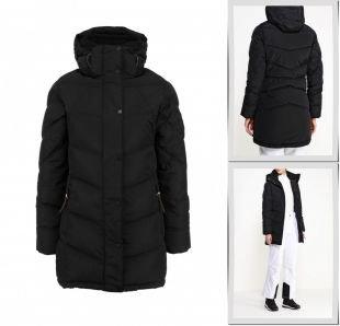 Черные куртки, куртка утепленная five seasons, осень-зима 2016/2017