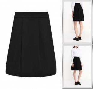 Черные юбки, юбка morgan, осень-зима 2016/2017