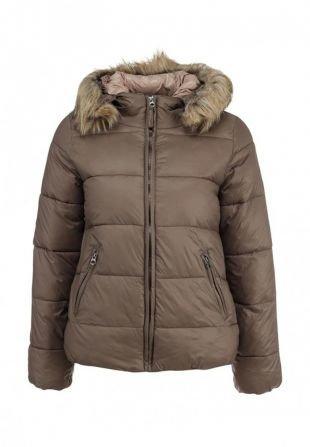 Коричневые куртки, куртка утепленная broadway, осень-зима 2015/2016