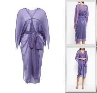 Фиолетовые платья, платье voielle,